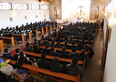 Eucaristía Celebración San Francisco de Asís