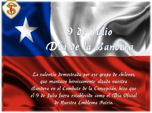 9 de Julio Día de la Bandera
