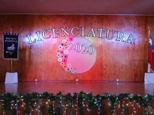 Ceremonia Licenciatura 2020